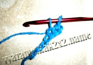 Вязание крючком для начинающих, пулустолбик