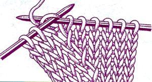 Прибавка петель спицами